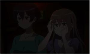 Miyu dan Karen menonton konser kanzaki elsa