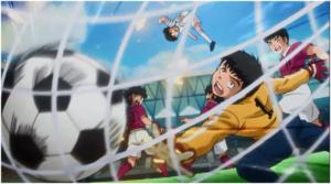 Tsubasa berhasil menggandakan kedudukan