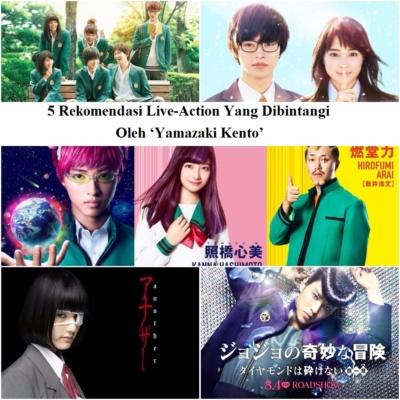 5 Rekomendasi Live-Action Yang Dibintangi Oleh 'Yamazaki Kento'